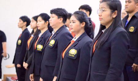 พิธีปฐมนิเทศต้อนรับนิสิตใหม่ หลักสูตรประกาศนียบัตรบัณฑิตวิชาชีพครู รุ่นที่ 5