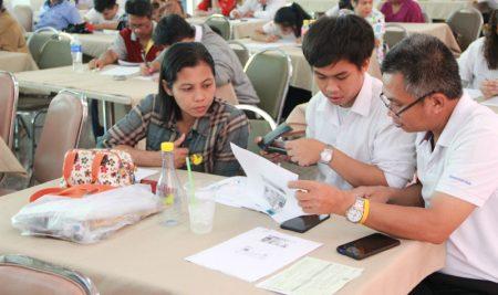 การทำสัญญานิสิตหลักสูตร WiL (รุ่นที่ 2) ประจำปีการศึกษา 2562